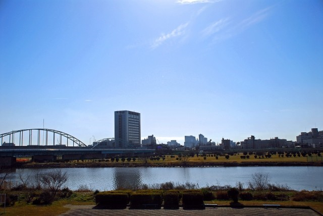多摩川|聖蹟桜ヶ丘駅