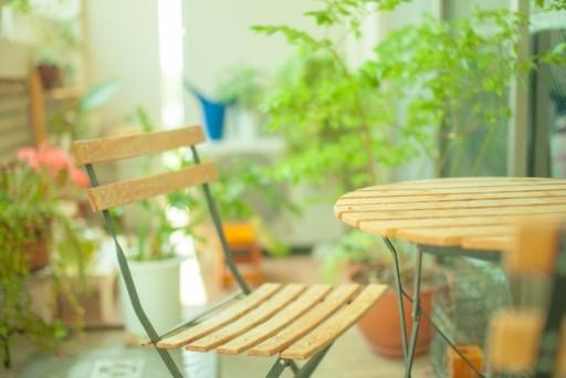 841 ベランダ 椅子