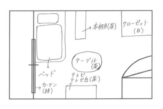 部屋の設計図④