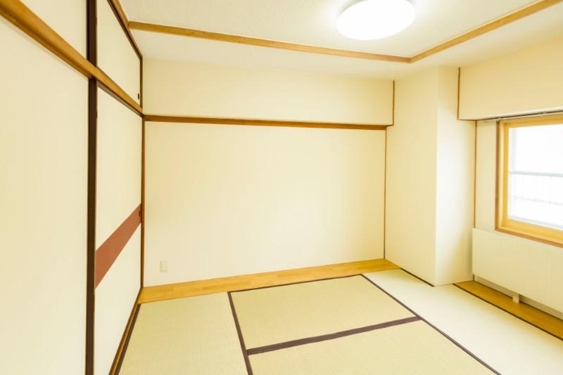 四畳半の和室