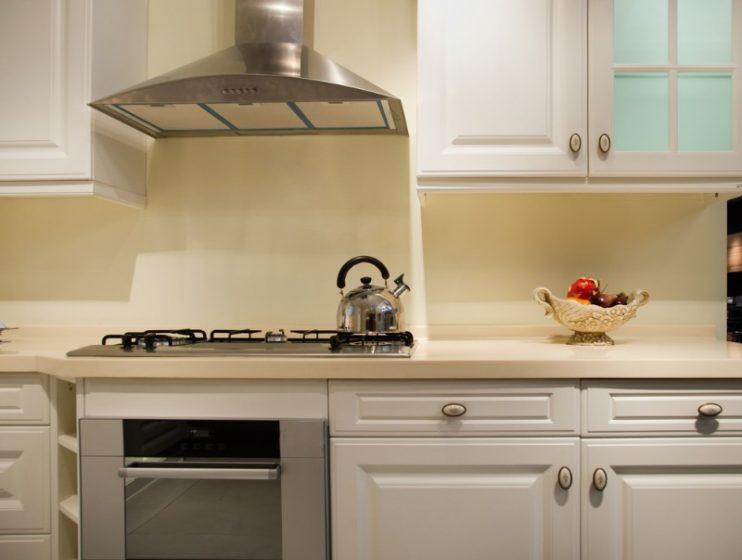 キッチンとレンジフード