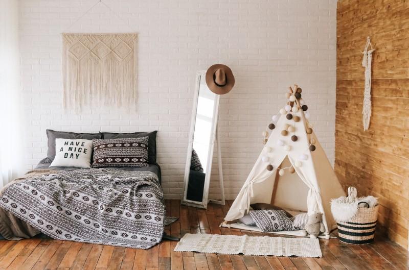 北欧家具で揃えられた部屋