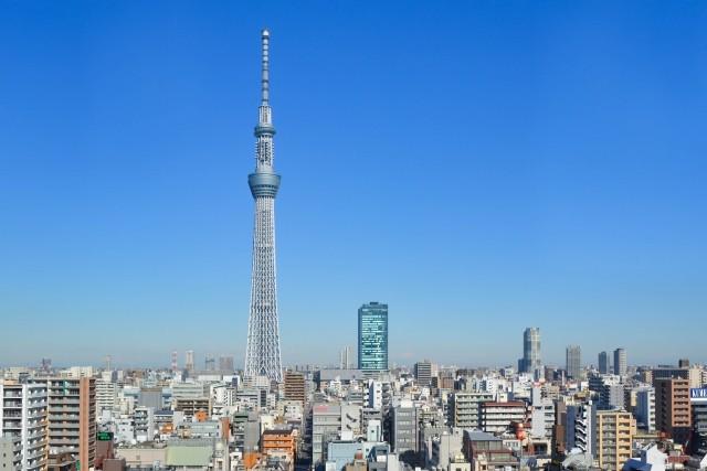 東京の街並み(スカイツリー)