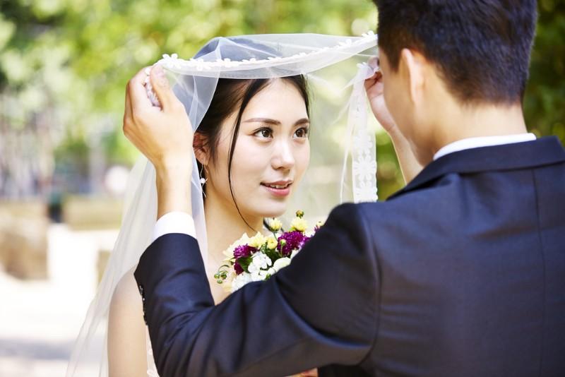 結婚をするイメージ