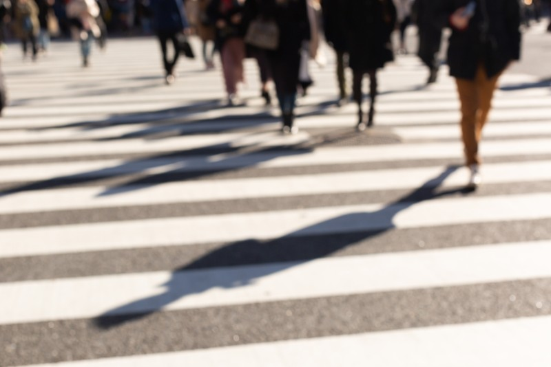 徒歩距離が長いイメージ