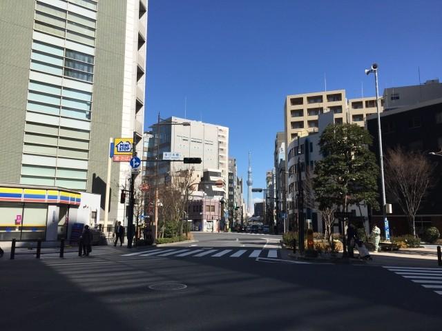 馬喰横山駅の周辺画像