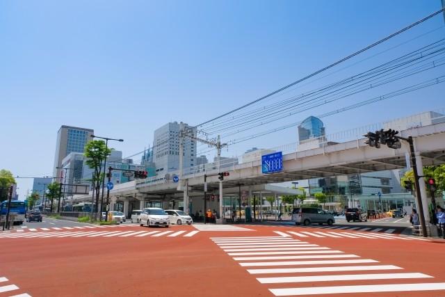 川崎駅の周辺の画像