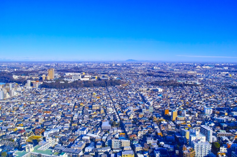 市川市の風景